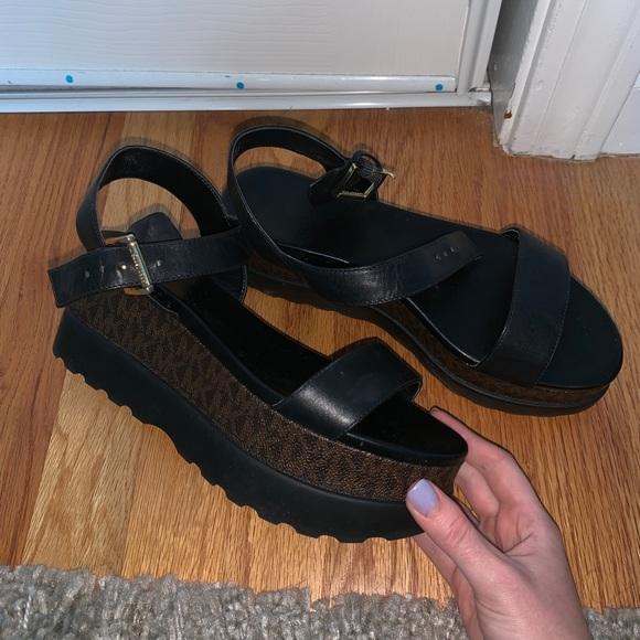 Michael Kors Marlon Leather Platform